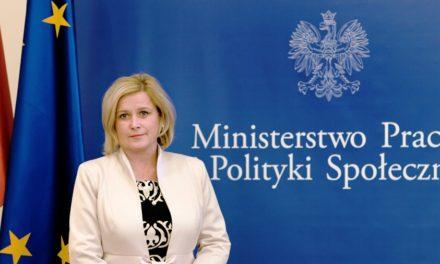 Wiceminister odwiedziła DPS w Zaskoczynie