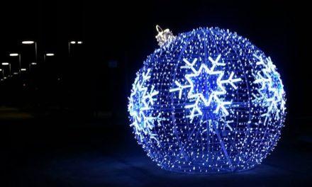 Iluminacje świąteczne w Pruszczu Gdańskim