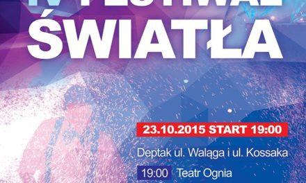 Festiwal Światła w Pruszczu Gdańskim