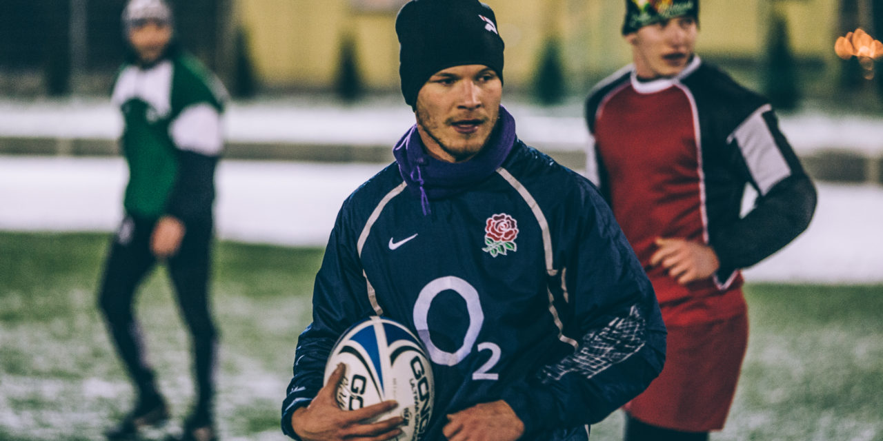 Rugby na mrozie!