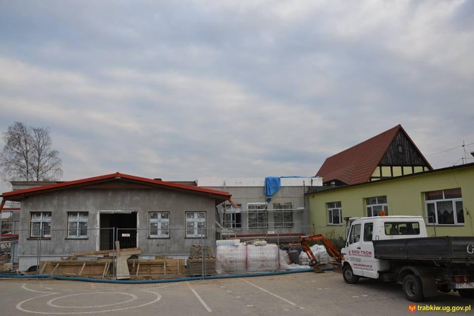 Rozbudowa szkoły podstawowej w Trąbkach Wielkich
