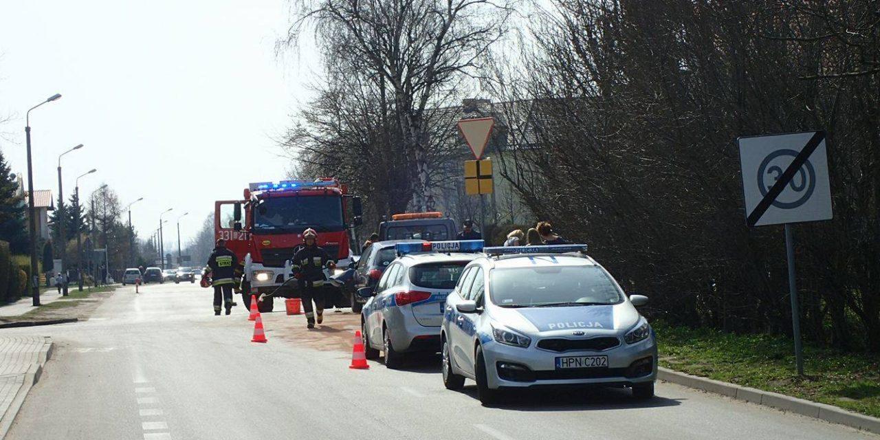 Poważny wypadek na skrzyżowaniu ulic Słowackiego i Gałczyńskiego