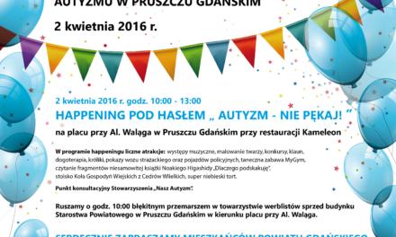 Światowy Dzień Świadomości Autyzmu w Pruszczu Gdańskim