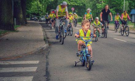 Przejazd rowerowy przez Pruszcz Gdański