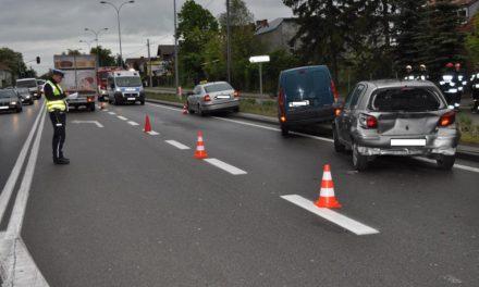 Dwie osoby ranne po wypadku w Łęgowie