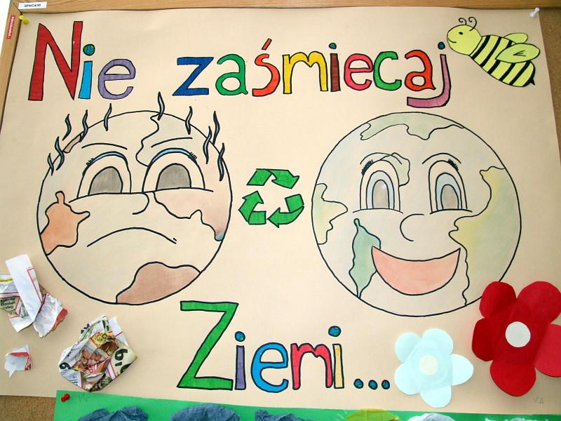 """""""Listy do Ziemi"""" od uczniów z ZS nr 4."""
