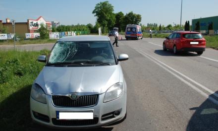 Śmiertelne potrącenie rowerzysty w Pruszczu Gdańskim
