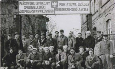 70-lecie pruszczańskiej szkoły ogrodniczej