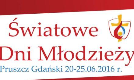 Światowe Dni Młodzieży w Pruszczu Gd.