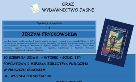 Spotkanie autorskie z Jerzym Fryckowskim