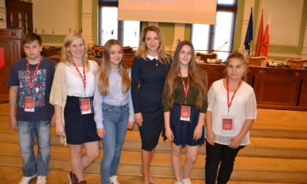 Wyróżnienie za projekty Młodzieżowej Rady Gminy Suchy Dąb
