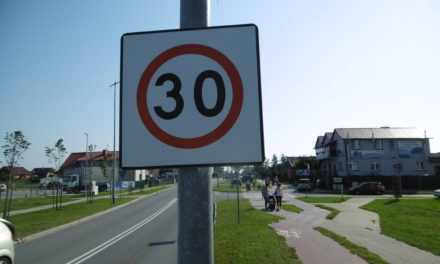 Strefy Tempo 30 w Pruszczu Gdańskim