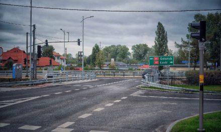 Nowe skrzyżowanie, dalsze plany i ciekawe rozwiązania w Trąbkach
