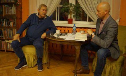 Rozmowa o książce z Andrzejem Strzeleckim