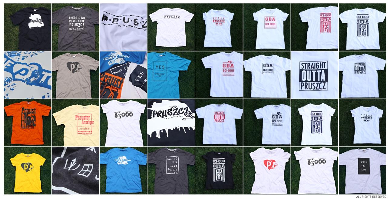 Koszulki Pruszczanie Nagłówek