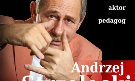 """""""Człowiek z parawanem""""- spotkanie z Andrzejem Strzeleckim"""