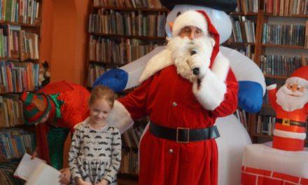 Mikołaj w bibliotece!