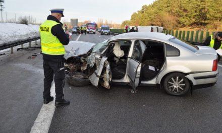 Zderzenie 6 samochodów na trójmiejskiej obwodnicy