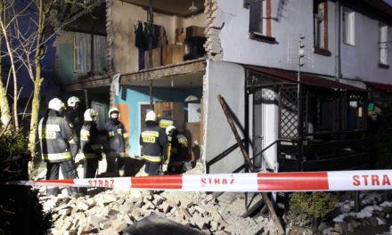 Wybuch w Juszkowie! Ewakuowano 14 osób.