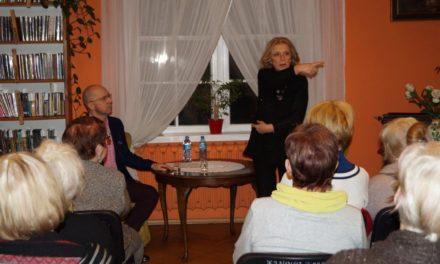 Aktorka Ewa Wiśniewska w Pruszczu Gdańskim