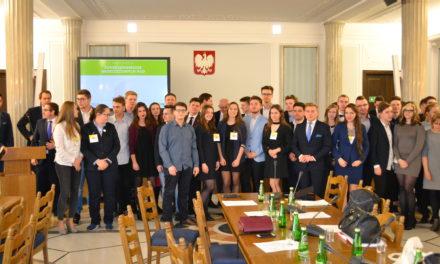 Konferencja w Sejmie z udziałem przedstawicieli gminy Suchy Dąb