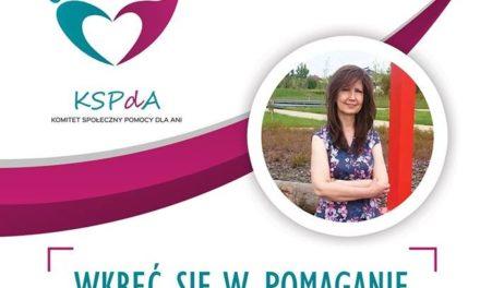 Wspieramy Anię w walce z rakiem