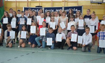 Zakończenie roku szkolnego 2016/2017 w Zespole Szkół w Suchym Dębie