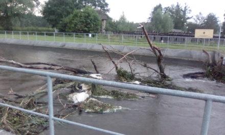 Pruszczanka reaguje na zagrożenie powodziowe