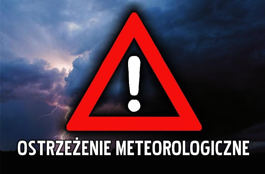 Alert pogodowy dla województwa pomorskiego