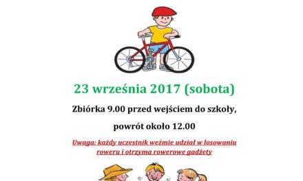 Zaproszenie na VI Rodzinny Rajd Rowerowy – Suchy Dąb – 23 września
