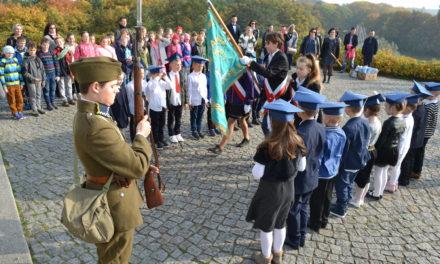 Ślubowanie pierwszoklasistów na Westerplatte