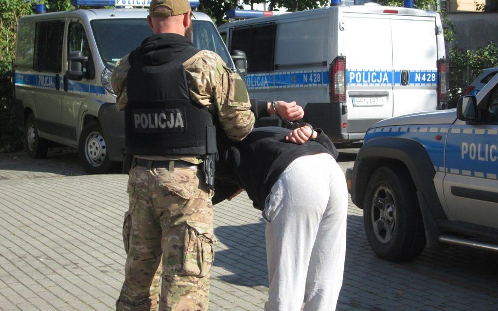 Rozboje i kradzieże na terenie Pruszcza