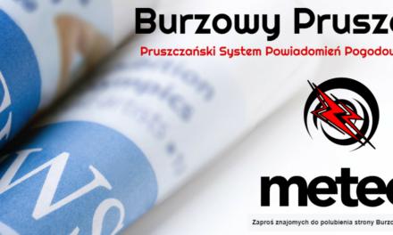 Burzowy Pruszcz – oficjalny portal meteo naszego regionu