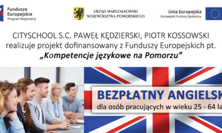 Darmowe szkolenia językowe w Pruszczu Gdańskim