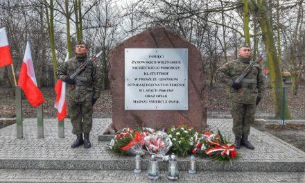 Rocznica Marszu Śmierci w Pruszczu Gdańskim