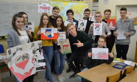 Niepodległa – Polska i jej bohaterowie na pracach uczniów z Suchego Dębu