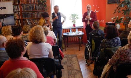 Robert Janowski spotkał się z pruszczańskimi czytelnikami