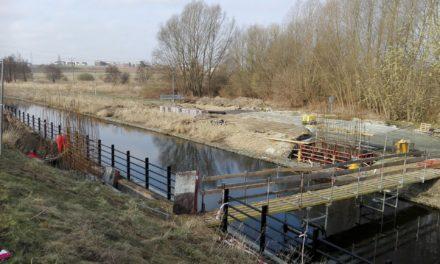 Eko-most na Kanale Raduni – trwa budowa