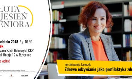 Bezpłatne zajęcia dla Seniorów w Pruszczu Gdańskim i Rusocinie