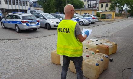 Złodzieje paliwa w rękach Policji