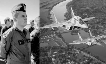 Pogrzeb tragicznie zmarłego pilota