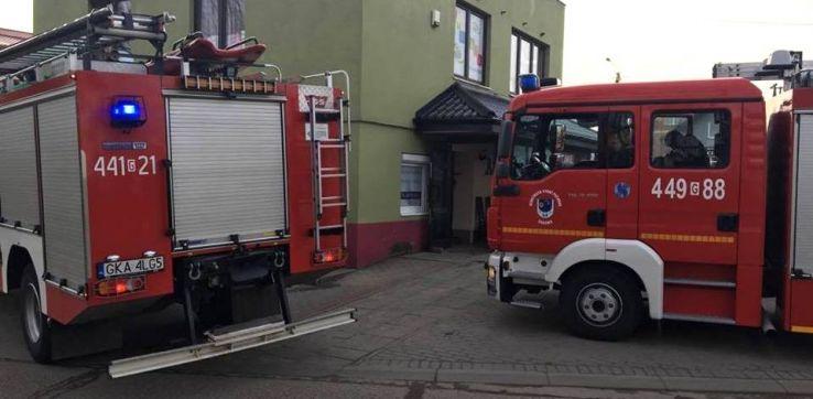 Wyciek toksycznego kwasu w Pruszczu Gdańskim. Ewakuowano ponad 70 osób
