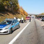 PRUSZCZ GDAŃSKI-POLICJANCI PRACOWALI NA MIEJSCU WYPADKU DROGOWEGO