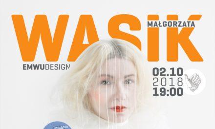 Projektantka Małgorzata Wasik w Koncertach na Kochanowskiego