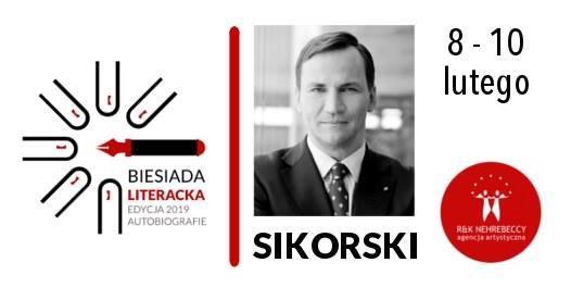 Spotkanie z Radosławem Sikorskim w bibliotece
