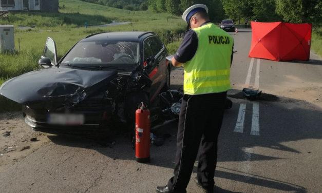 Śmierć poniósł 25-letni motocyklista