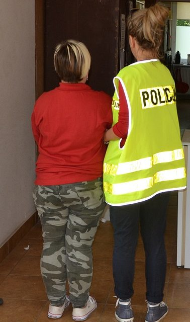 Policjanci zatrzymali sprawcę kradzieży