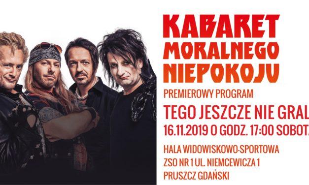 Kabaret Moralnego Niepokoju w Pruszczu Gdańskim