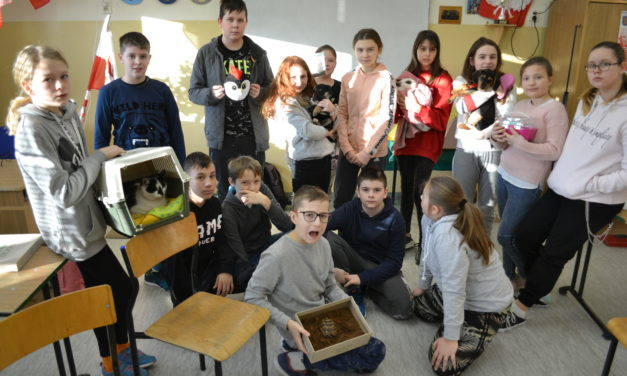 Dzień Zwierząt w klasie 6 a z Suchego Dębu