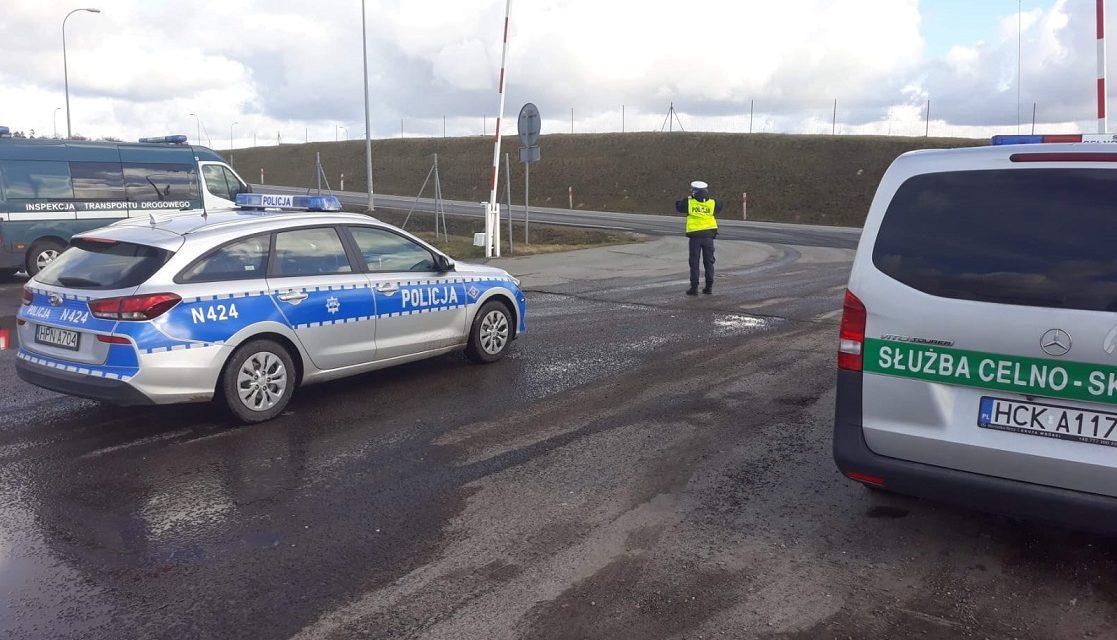 Wspólna służba policjantów z funkcjonariuszami Służby Celno-Skarbowej
